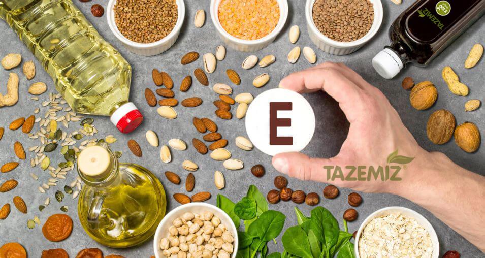 E Vitamini Bulunan Yağlar
